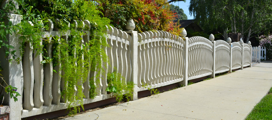 concrete fence wall from Stackwall