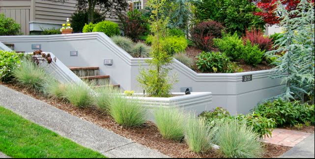 Best Images About Slope Garden Designideas On Pinterest Gardens Traditional And The Block