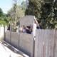 Self-Installation of Stackwall Concrete Fence